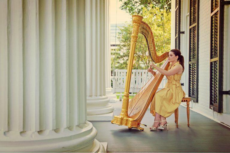 Governor's Harpist